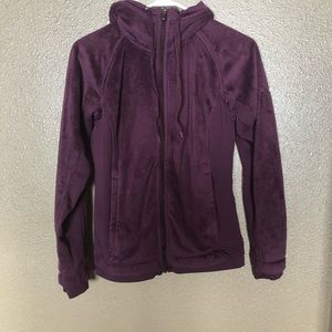 Columbia Hooded Zip-Up Fleece
